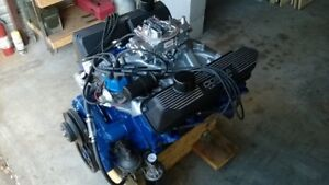 Ford 432 Fe Stroker With 1969 14 Bolt Gt 390 428 Heads Mustang Cobra