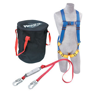 Protecta Compliance in a can Roofer s Fall Protection Kit Harness Anchorage