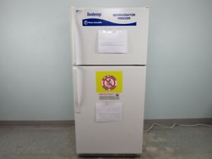Fisher Isotemp Lab Refrigerator Freezer Combo With Warranty See Video
