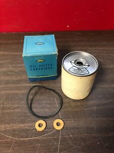 1938 1939 1940 Ford Lincoln Oil Filter Cartridge Element Display Nos 1018