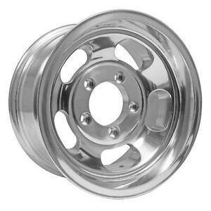 15x8 Us Mag Indy U101 5x5 5 Et 12 Polished Rims New Set Of 4
