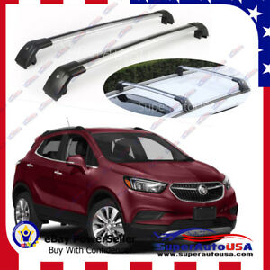 Top Roof Rack Buick Encore 2013 2019 Silver Baggage Luggage Cross Bar Crossbar