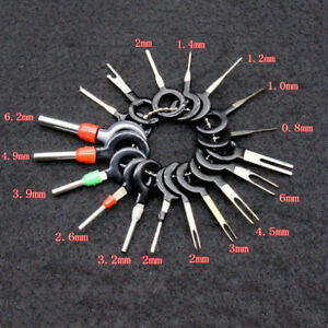 18x Car Wire Terminal Removal Tools Kit Wiring Connector Pin Extractor Puller $3.65