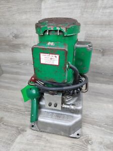 Greenlee 960 ps Electric Hydraulic Power Pump 10 000 Psi Factory Serviced