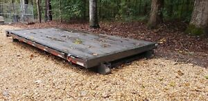 14 Ft Maxxd Rolloff Flatbed Only