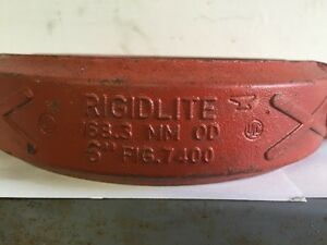 Gruvlok Rigidlite 7400 Coupling 6 168 3 Mm Fire Sprinkler Pipe Clamp New