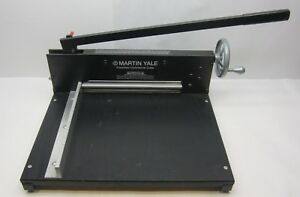 Martin Yale 7000e Powerline Commercial Cutter 12 Paper Heavy Duty Card Stock
