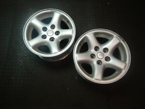 Jeep Cherokee Xj 97 01 Pair Of 2 Factory Oem Aluminum Wheel Rim 15 Free Shippin