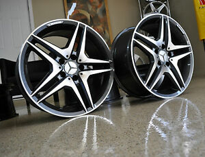 Mercedes 19 Inch 63 Gunmetal Wheels Rims Brand New S550 Cl550 S500 Cl500 S55 Amg