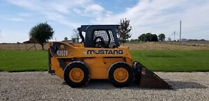 2014 Mustang 4000v Gehl Skid Steer Loader High Flow Wheel Cummins 2 Speed