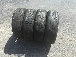Set Of 4 175 65 15 Contiprocontact Tires With 40 Tread Left