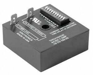 Encapsulated Timer Relay Function On Delay Status Indicator None 1a Contact