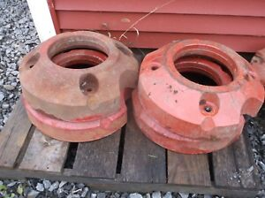 Farmall Ih A B Bn Super A 100 130 140 Rear Wheel Weights Local Pickup Only
