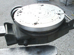 Bridgeport 12 Rotary Table Serial No 20988