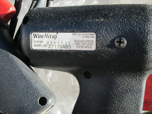 Lot Of 3 Cooper wire wrap 27170ab5 Elec Wrap Tool 120v