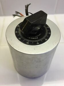 1 Vintage Powerstat Variable Transformer Type S36000 Used