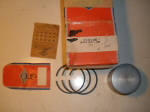 Vintage Nos Briggs Stratton Gas Enginen 020 Over Piston Assembly 298906