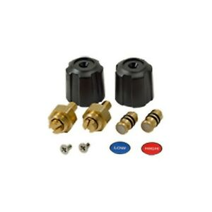 Fieldpiece Rsmank6 Replacement Valve And Knob Kit For Sman2 And Sman3 Manifolds