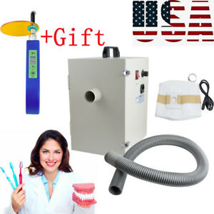 Dental Dentist Digital Dust Collector Vacuum Cleaner Lab Equipment gift New Usa
