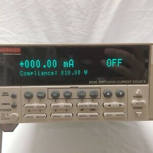 Keithley_6220 Precision Current Source