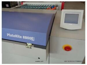 Screen Ptr 8800iii Thermal Ctp In Excellent Condition