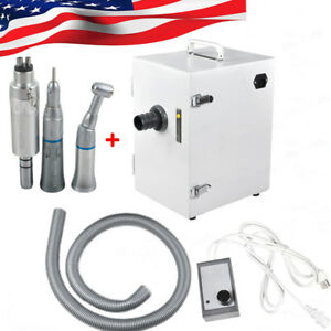 us dental Digital Single row Dust Collector Vacuum Cleaner Lowspeed Handpiece