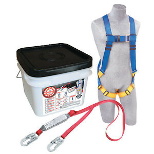 Compliance In A Can Light Roofer s Fall Protection Kit Back D ring Vest