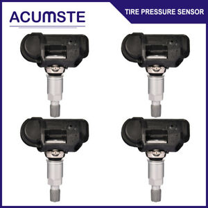 4pcs Tpms Tire Pressure Monitor Sensors For Mercedes Benz Smart A0009050030q03