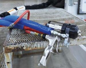 Graco Fusion Ap Spray Foam Insulation poly Gun With Free Repair Kit