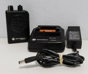 Motorola Minitor V 151 158 9975mhz Vhf 1 ch Pager Stored Voice W Charger