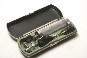 Vintage Welch Allyn Otoscope 216 Rechargeable Handle W Case