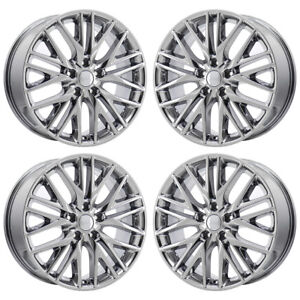 20 Jeep Grand Cherokee Summit Pvd Chrome Wheels Rims Factory Oem 9171