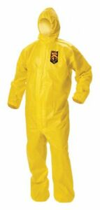 Kimberly clark Hooded Disposable Coveralls 2xl 09815