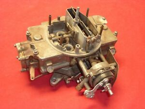 1966 Ford Autolite 4100 Four barrel Carb Carburetor C6af Original Tag Nice Core