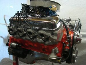 396 Chevy Turn Key Alum Head Chevelle Camaro Corvette High Perf Big Block Crate