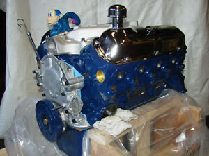 289 Ford Crate High Performance Balanced Engine With 5 Bolt Bell Housing Pattern
