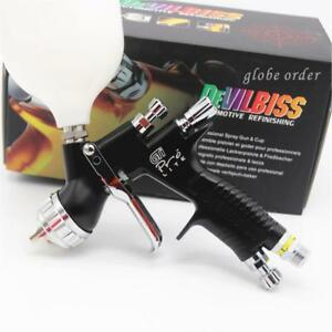 Devilbiss Gti Pro Black High Quality Professional T110 Spray Gun 1 3mm Nozzle