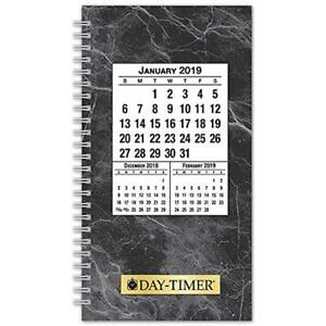 Day timer 2019 Daily Planner Refill 3 1 2 X 6 1 2 Pocket Size 2 Two Pages
