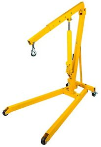 Jegs 81059 1 2 ton Shop Crane Boom Operating Range 29 In To 44 In Lift Range