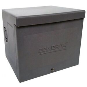 Generac 6337 30 amp 125 250v Raintight Power Inlet Box
