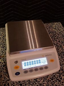 Sartorius Extend Ed8201 D 0 1g Max 8200 0g Lab Scale Working Great