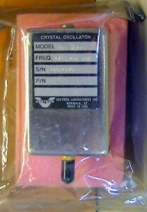 vectron Crystal Oscillator M n 255 8729 Freq 379 750 Mhz New Sealed