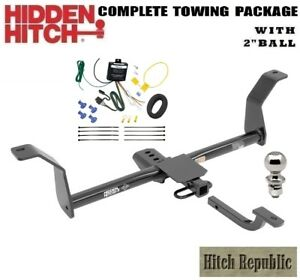 Fits 2014 Kia Cadenza Class 2 Trailer Hitch Package W 2 Ball 90238