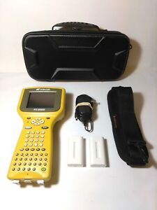 Topcon Fc 2000 Bluetooth Data Collector Topsurv7 case stylus 3 Batteries charger
