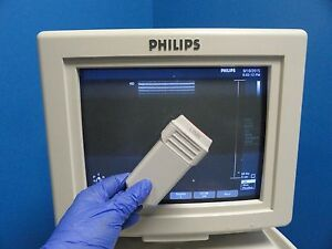 2003 Philips Hp L7535 P n 23159a Linear Array Vascular Ultrasound Probe 9639
