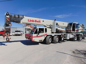 2007 Link Belt Htc 8690 Telescopic Truck Crane 90 Tons 140 Power Boom