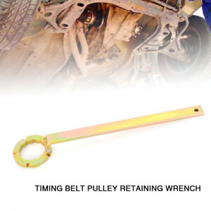 Camshaft Timing Belt Pulley Retaining Wrench For Subaru Metal Sliver Usa