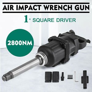 Industrial Air Impact Wrench 1 Pneumatic Compressor Long Shank 2070ft lb New
