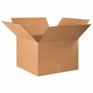 22 x20 x14 Corrugated Boxes 15 Pack Lot Of 15