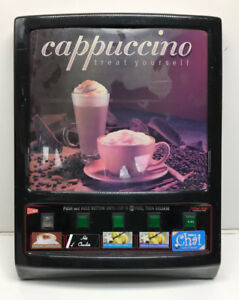 Cecilware Gb5k 5 head Automatic Cappuccino Machine Door Panel Used As Is
